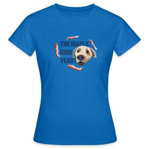 dogmaple3 - Women's T-Shirt