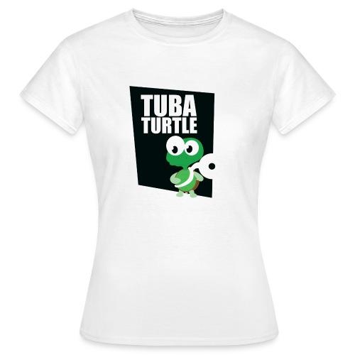 tuba schildpad3 - Vrouwen T-shirt