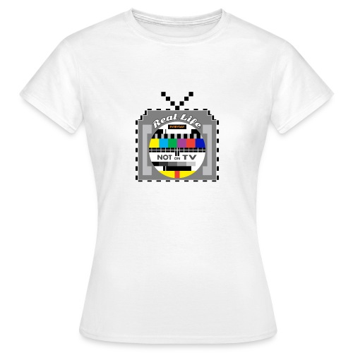 Not on TV - Women's T-Shirt