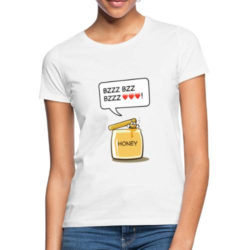 Bi i honungsburk - T-shirt dam