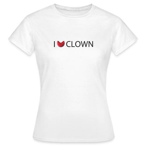 I Nose clown - Camiseta mujer