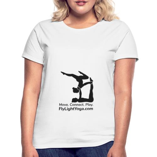 AcroYoga: Move Connect Play - Women's T-Shirt