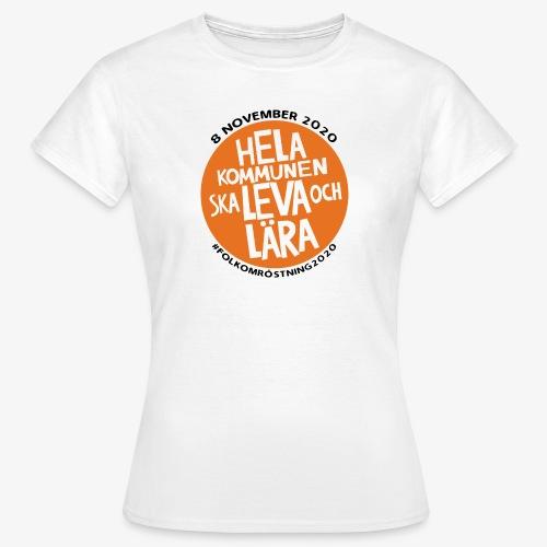 FOLKOMRÖSTNING 2020 - T-shirt dam
