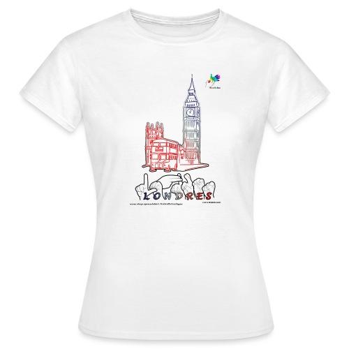 LONDRES - T-shirt Femme