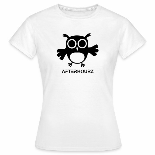 Afterhour Eule große Pupillen Iris Augen Techno - Frauen T-Shirt