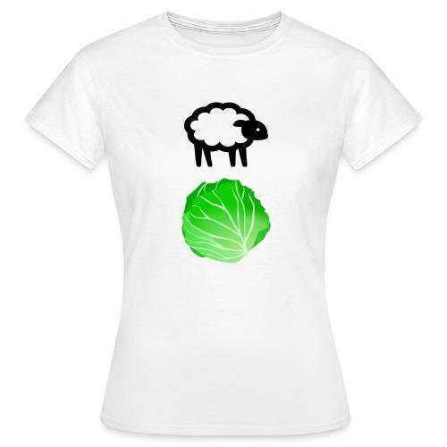 Fårikål - Sort - T-skjorte for kvinner