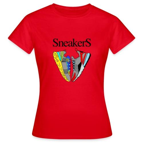 sneakers Love - T-shirt Femme