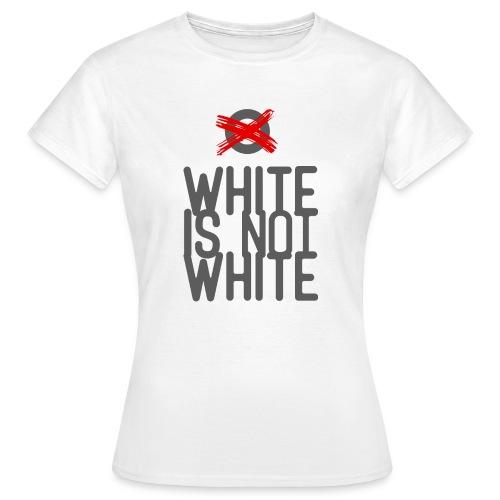 white not - Koszulka damska