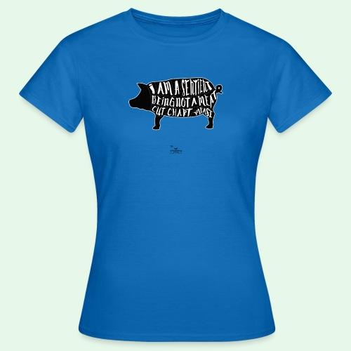 Sentient Being - Black - T-shirt dam