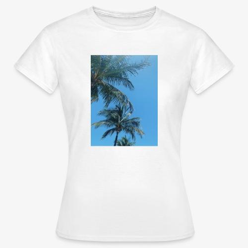 Palmen - Frauen T-Shirt