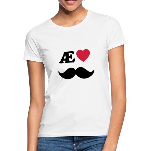 elskepappanordnorsk01b - T-skjorte for kvinner
