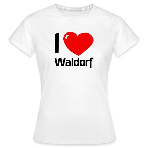 I love Waldorf - Frauen T-Shirt