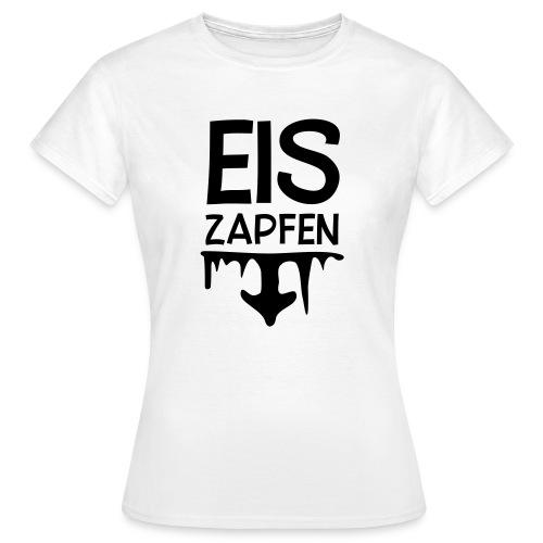 Skishirt Eiszapfen - Frauen T-Shirt