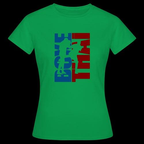 boxe thai - T-shirt Femme