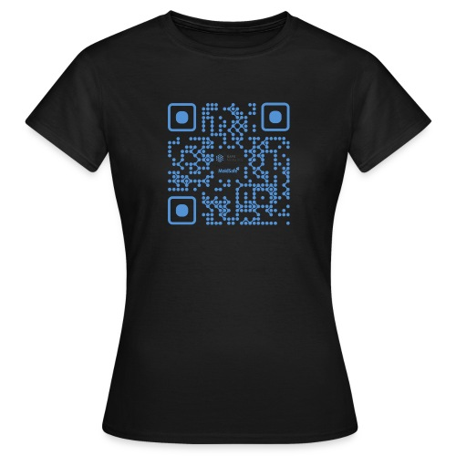 QR Maidsafe.net - Women's T-Shirt