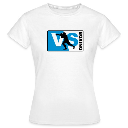boxing logo - Frauen T-Shirt