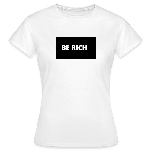 BE RICH REFLEX - Vrouwen T-shirt