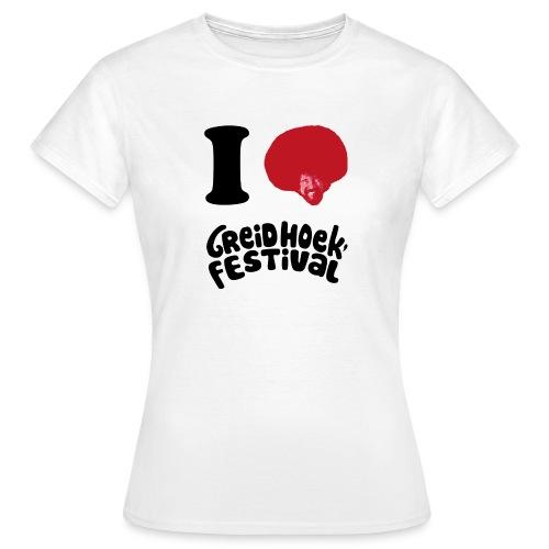 i love greidhoek - Vrouwen T-shirt