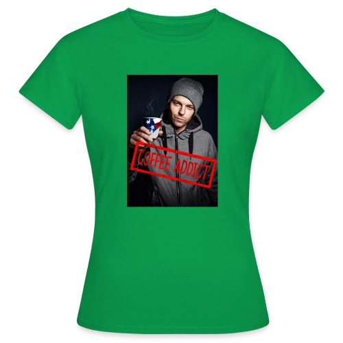 Coffee addiction - Women's T-Shirt