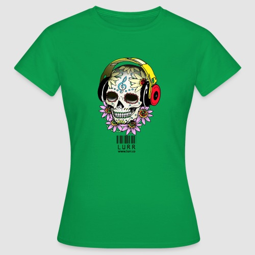 smiling_skull - Women's T-Shirt