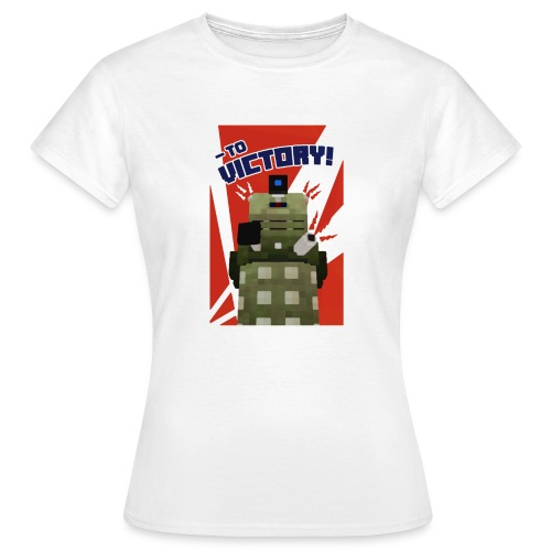 Dalek Mod - To Victory - Women's T-Shirt