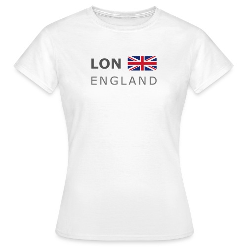LON ENGLAND BF dark-lettered 400 dpi - Women's T-Shirt