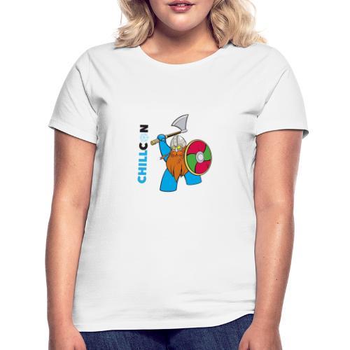 Viking Mascot - Colour - Women's T-Shirt