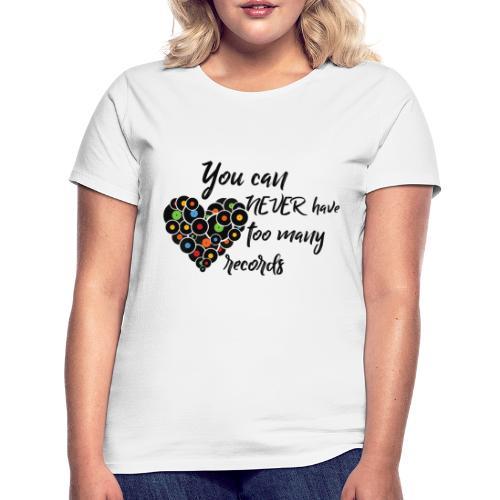 Neva2many • Respect Vinyl - Frauen T-Shirt