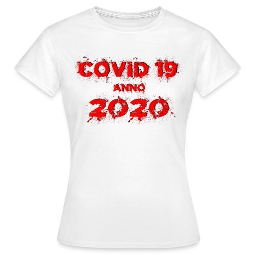 COVID 19 anno 2020 - Frauen T-Shirt