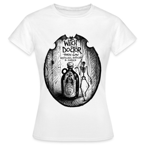 WitchDoctor png - Women's T-Shirt