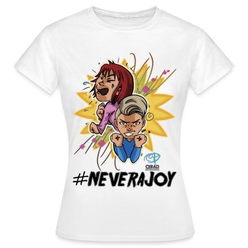#neverajoy - Maglietta da donna