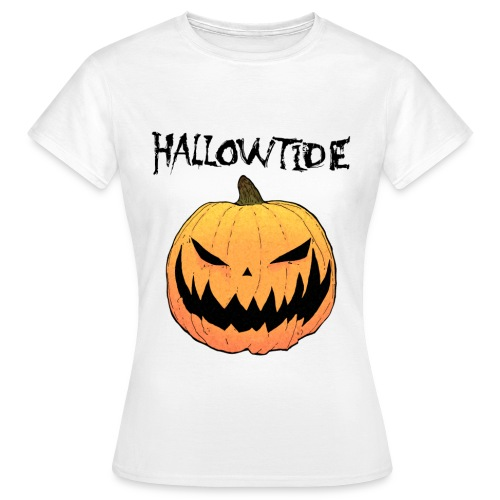 T Shirt orange pumpkin white 2014 png - Women's T-Shirt
