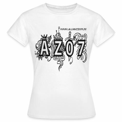 azlogoblack - Frauen T-Shirt