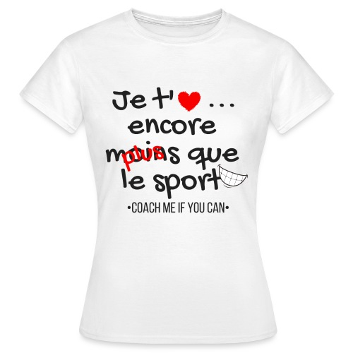 Saint Valentin - T-shirt Femme