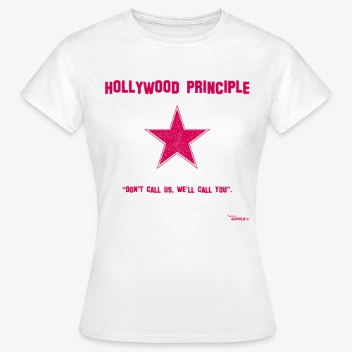 hollywood principle rosa gif - Women's T-Shirt