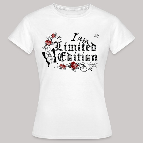 simply wild limited Edition on white - Frauen T-Shirt