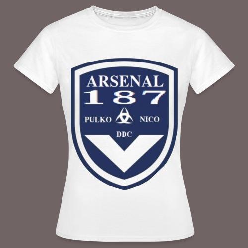 MOTIF GIRONDINS transparant png - T-shirt Femme