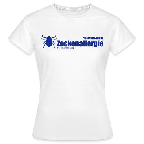 zeckenallergie - Frauen T-Shirt