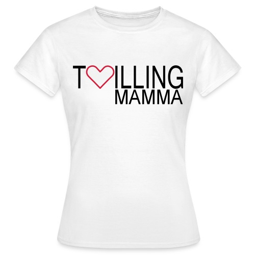 tvillingmamma vector - T-shirt dam