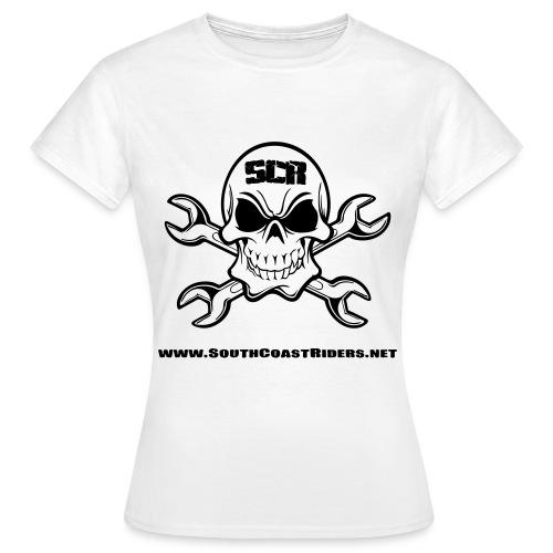 SCR SKULL V2 - Women's T-Shirt