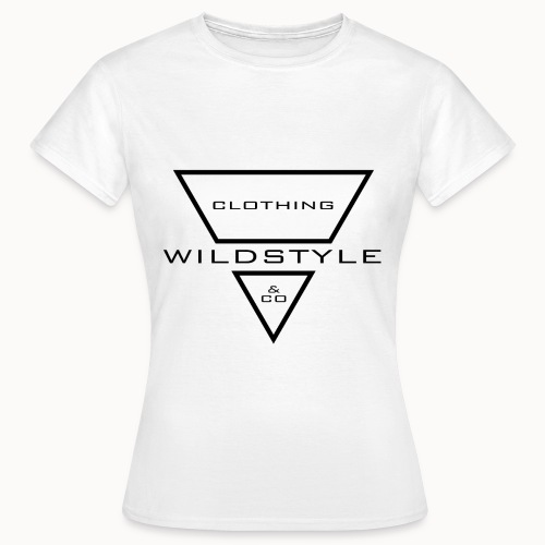 WildstyleLogo-Header-b - Frauen T-Shirt
