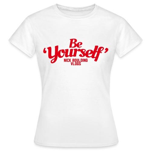 NickBeYourselfLogoMedium png - Women's T-Shirt
