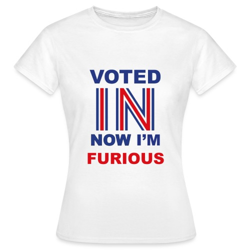 Voted IN - Women's T-Shirt