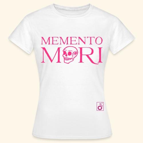 Memento Mori Black bw - Frauen T-Shirt