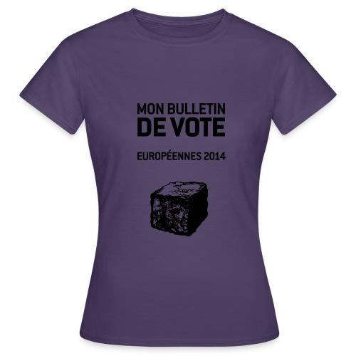 bulletin_europeene - T-shirt Femme