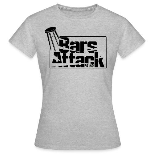 BarsAttack Black Logo - Frauen T-Shirt