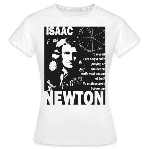 Isaac Newton - Women's T-Shirt