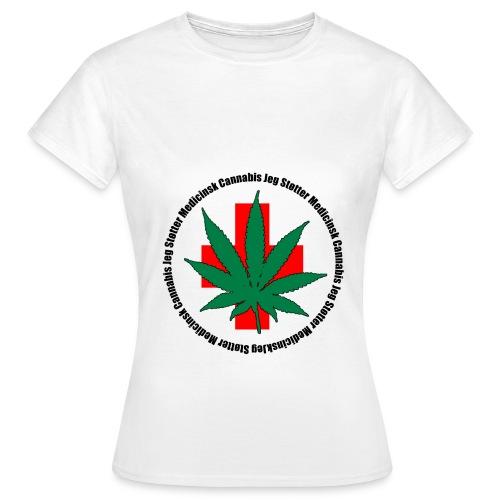 medicinsk png - Dame-T-shirt