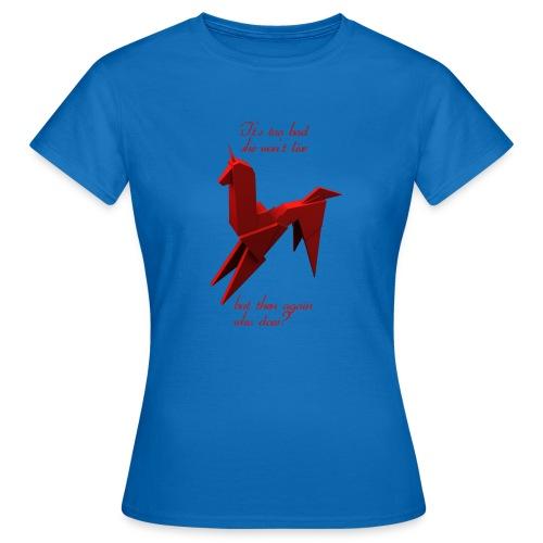 UnicornioBR2 - Camiseta mujer