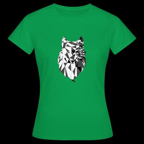 Polygoon wolf - Vrouwen T-shirt
